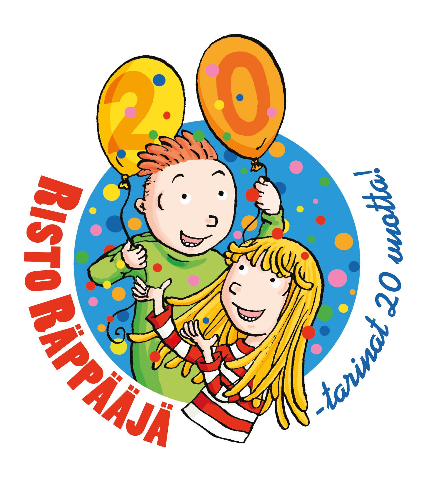 Risto Räppääjä -tarinat 20 vuotta