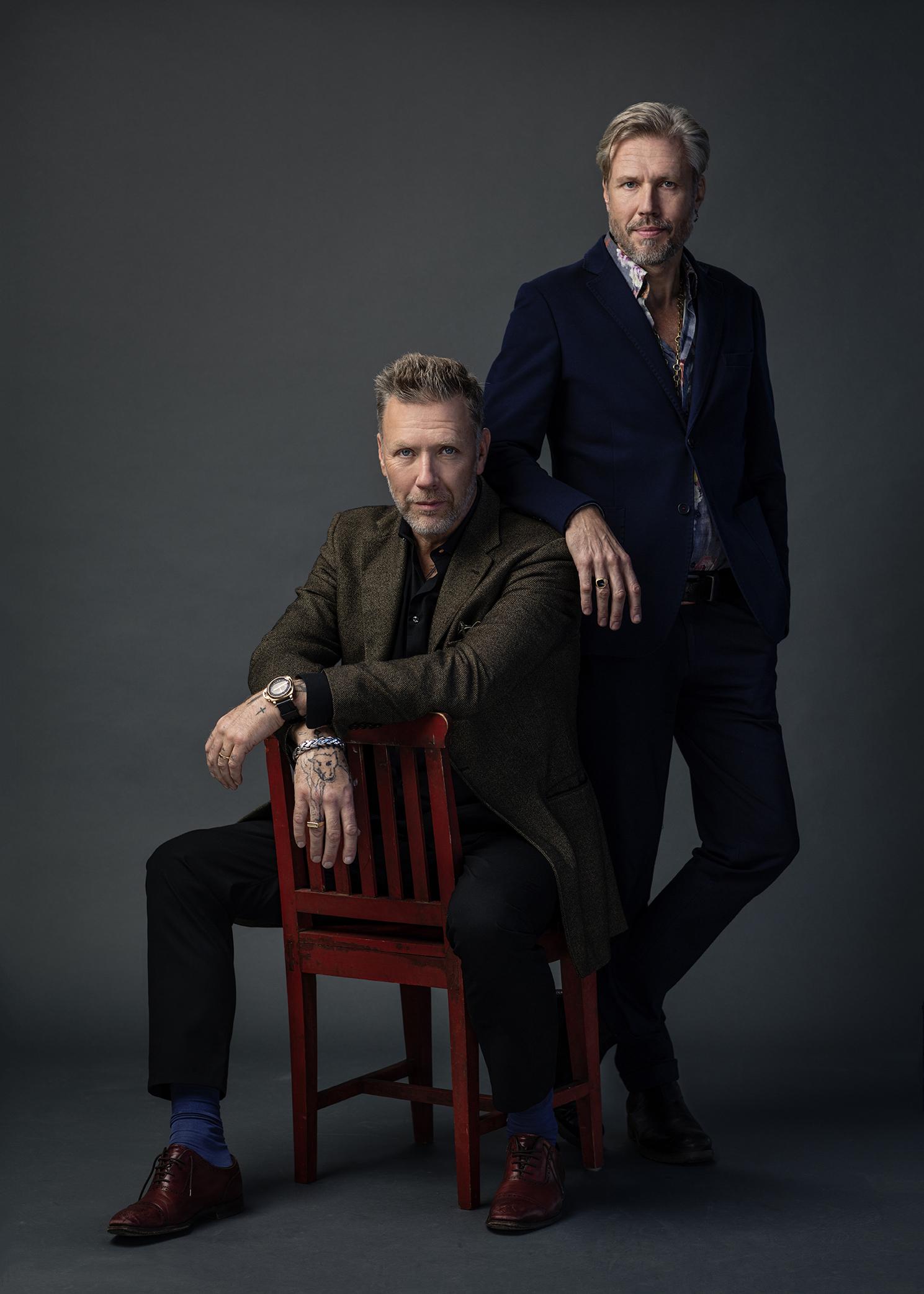 Mikael Persbrandt ja Carl-Johan Vallgren